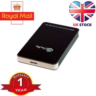 "Ekobuy Aluminium Sata to USB 3.0 External Enclosure Case for 2.5"" HDD and SSD"