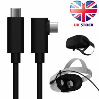 For Oculus Quest 2 Link 5M USB 3.2 Cable Data Line Type C Cable Steam VR Cables