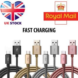 Premium Thick Braided High Quality Fast Charging 1-2-3m Micro USB Cable