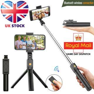 Bluetooth Selfie Tripod Telescopic Stick Remote LS01s